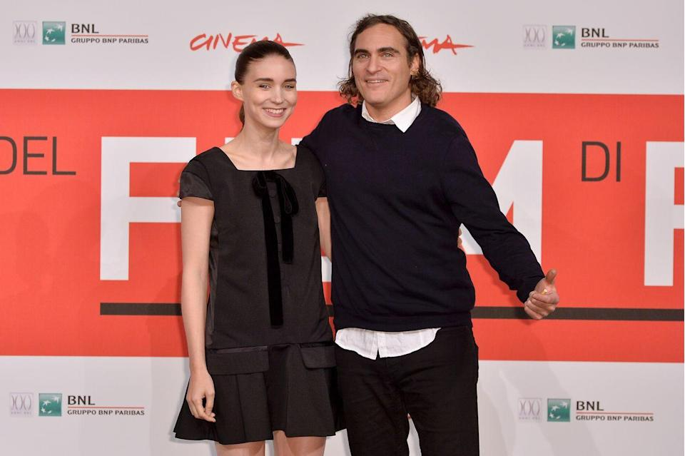"<p>Joaquin started the year by winning an Oscar and ended it by <a href=""https://www.cosmopolitan.com/entertainment/celebs/a34191524/joaquin-phoenix-rooney-mara-just-welcomed-first-child/"" rel=""nofollow noopener"" target=""_blank"" data-ylk=""slk:welcoming his first child with Rooney Mara"" class=""link rapid-noclick-resp"">welcoming his first child with Rooney Mara</a> sometime in 2020. (Casual.) The couple named their son River <a href=""https://www.theguardian.com/film/2020/sep/28/joaquin-phoenix-rooney-mara-name-baby-son-river-brother-river-phoenix"" rel=""nofollow noopener"" target=""_blank"" data-ylk=""slk:after Joaquin's late brother"" class=""link rapid-noclick-resp"">after Joaquin's late brother</a>, who died tragically in 1993. </p>"