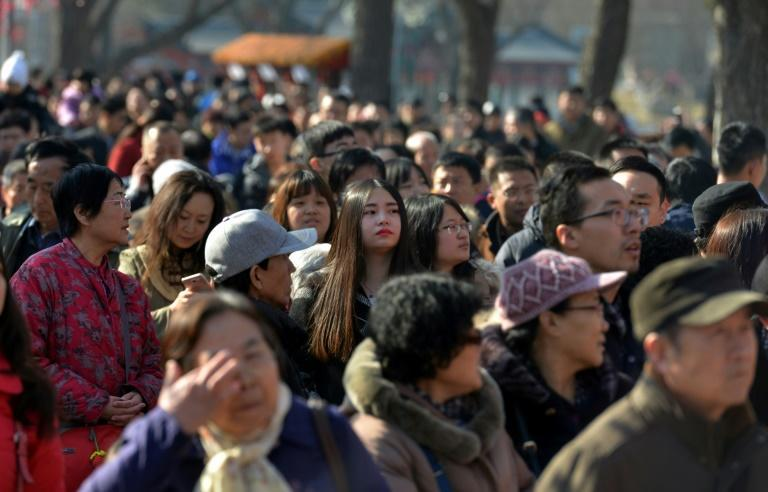 China is the world's most populous nation of some 1.4 billion