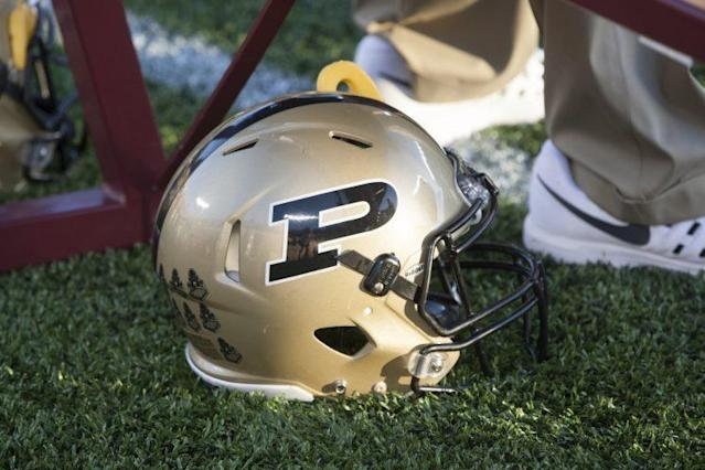 "Purdue safety <a class=""link rapid-noclick-resp"" href=""/ncaaf/players/255347/"" data-ylk=""slk:Andy Chelf"">Andy Chelf</a> was shot near campus Sunday. (AP)"