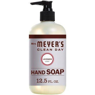 """<p><strong>Mrs. Meyer's Clean Day Lavender Liquid Hand Soap</strong></p><p>target.com</p><p><strong>$3.99</strong></p><p><a href=""""https://www.target.com/p/mrs-meyer-s-hand-soap-lavender-12-5oz/-/A-13315169"""" rel=""""nofollow noopener"""" target=""""_blank"""" data-ylk=""""slk:Shop Now"""" class=""""link rapid-noclick-resp"""">Shop Now</a></p><p>A Mrs. Meyer's Clean Day hand soap in every bathroom is a total flex. I love this brand because it's an accessible form of clean beauty—you can shop it when you're picking up your fancy pig-hunted black truffle mushrooms from Whole Foods—or order off Amazon by the dozen at under four bucks a bottle. </p>"""