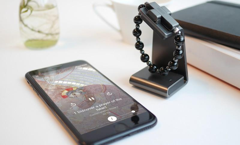 The Vatican is trying to attract youngsters with a new wearable bracelet and an app to pray. (The Vatican)