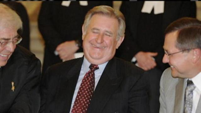 Former Prime Minister Paul Martin comments on the death of former Alberta Premier Ralph Klein