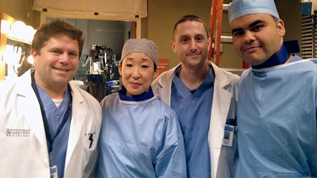 Cardiologist Makes TV Debut on Grey's Anatomy