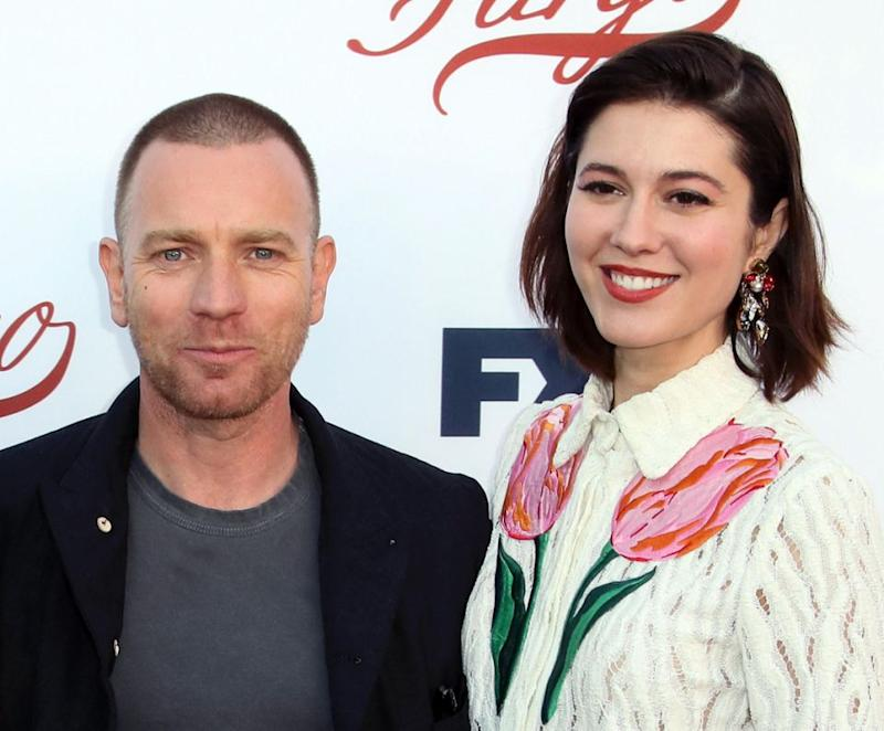 Ewan is now dating Mary Winstead, his Fargo co-star. Source: Getty