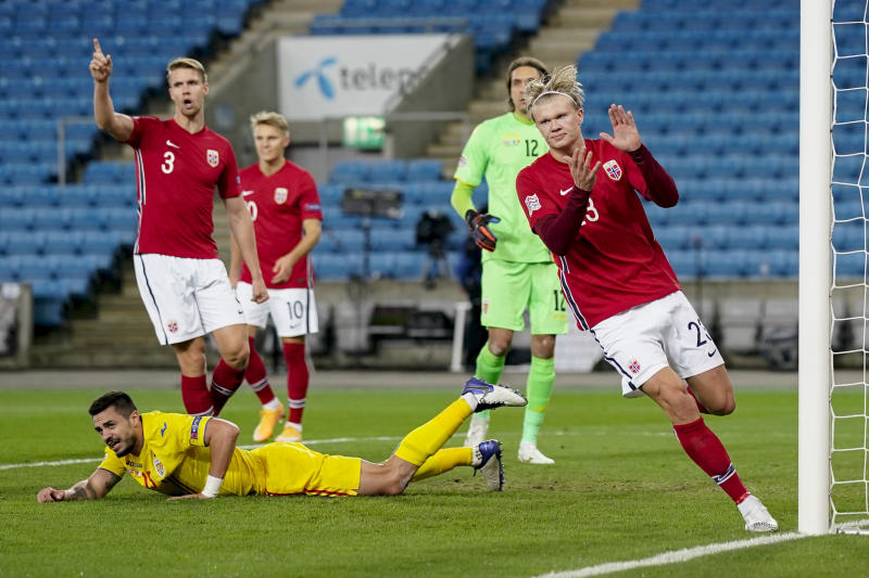 Norway Romania Nations League Soccer