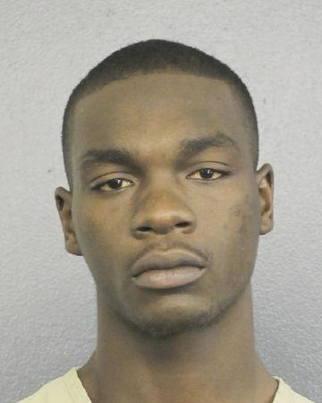 Michael Boatwright, 22, who faces a charge of first degree murder, is seen in this Broward County Sheriff's Office, Florida, U.S., booking photo following arrest on July 5, 2018. Courtesy Broward County Sheriff's Office/Handout via REUTERS