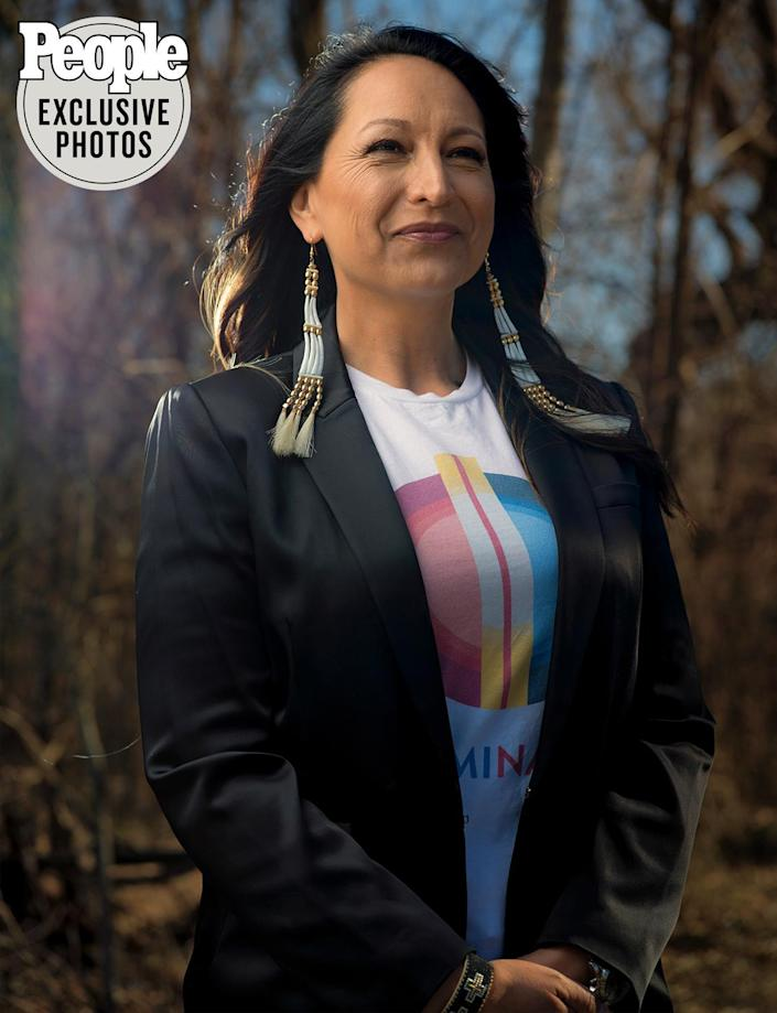 """<p>A member of the Pawnee Nation of Oklahoma, Echo Hawk launched IllumiNative, a network of activists and tribal leaders that successfully lobbied for the renaming of the NFL's Washington franchise, among other wins. But, she says of Native American stereotypes, """"we have a long way to go to make the public understand the harm.""""</p>"""