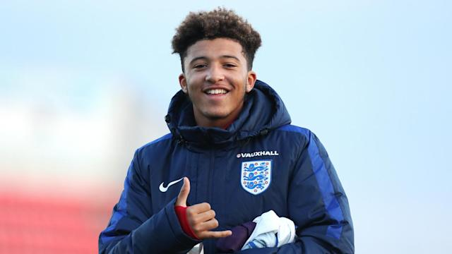 Jadon Sancho Manchester City