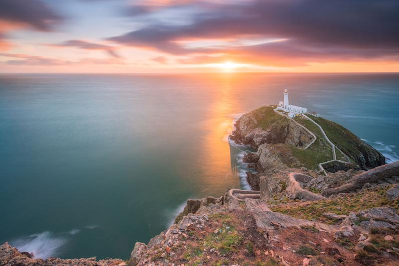 South Stack Lighthouse, Wales. (Photo: Alessio Putzu/Caters News)