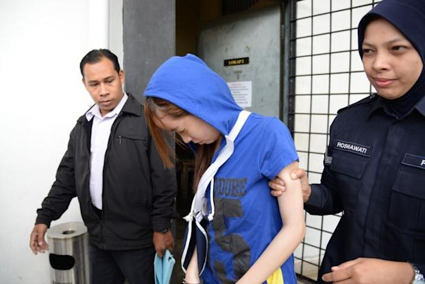 Ng Pei Ven was earlier charged at the magistrate's court here under Section 44 (1) (a) of the Road Transport Act 1987 for allegedly driving under the influence of drugs. — Picture by KE Ooi