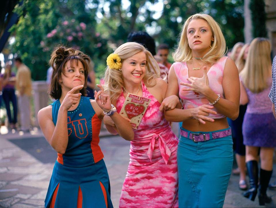 <p><strong>Her Legally Blonde angle: </strong></p><p>The other half of Elle's best friends duo, who is a devoted cheerleader at college.</p>