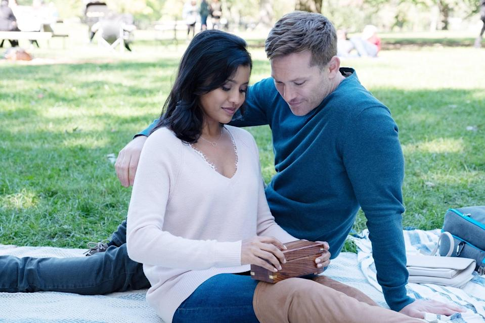 """<p>Tiya Sircar from <strong>The Good Place</strong> stars in this comedy as Kate Bradley, a NYC TV news reporter who attempts to hunt down an anonymous good Samaritan, """"Good Sam,"""" who keeps leaving $100k in cash on seemingly random people's doorsteps.</p> <p><a href=""""http://www.netflix.com/title/80998967"""" class=""""link rapid-noclick-resp"""" rel=""""nofollow noopener"""" target=""""_blank"""" data-ylk=""""slk:Watch Good Sam on Netflix"""">Watch<strong> Good Sam</strong> on Netflix</a>.</p>"""