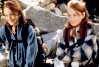 <p>This 1998 remake marks Lohan's breakout <i>roles</i>. Dennis Quaid and Natasha Richardson play the divorced parents Lohan's twin characters try to reunite. <i>(Photo: Everett Collection)</i></p>