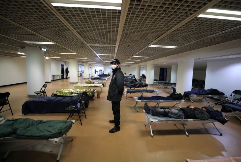 Cannes opens its doors to homeless after coronavirus delays film festival