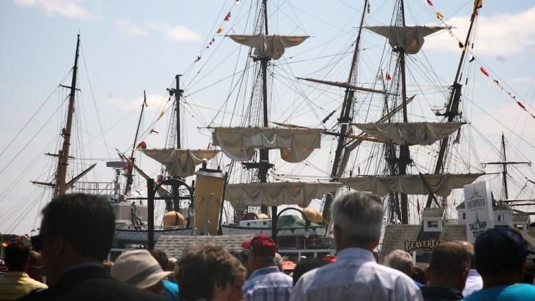 Tall Ships will sail despite construction around harbour