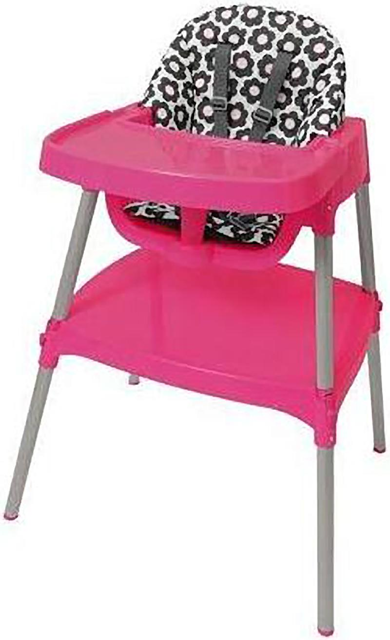 Recalls this week: High chairs, dumbbells