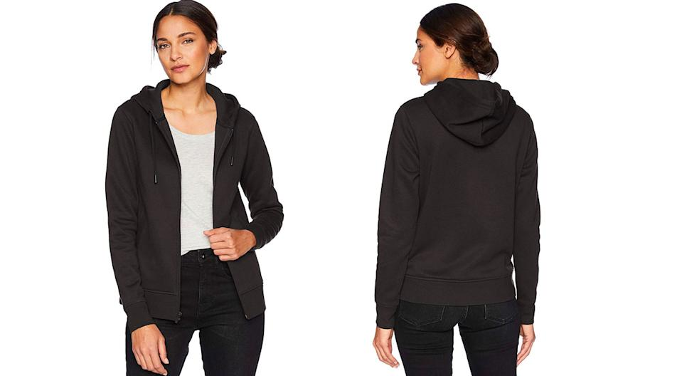 Amazon Essentials Women's Water-Repellent Thermal-Lined Full-Zip Hoodie (Photo: Amazon)