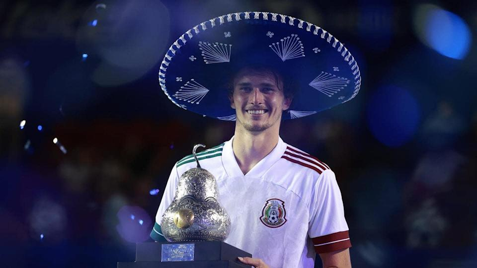 Alexander Zverev wins Mexican Open, secures 14th ATP tour title