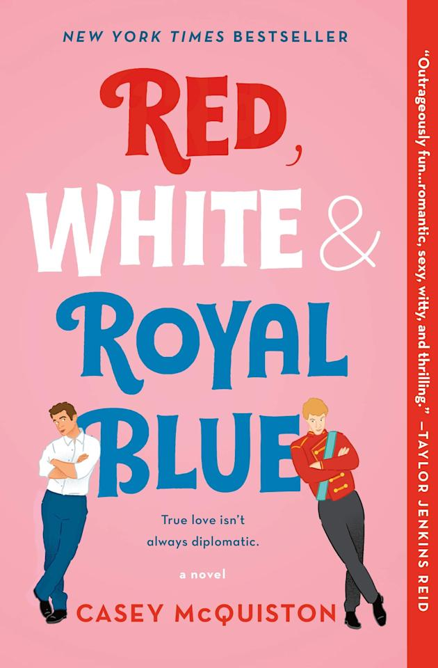 "<p><strong></strong><a href=""https://www.popsugar.com/buy?url=https%3A%2F%2Fwww.amazon.com%2FRed-White-Royal-Blue-Novel%2Fdp%2F1250316774%3Fots%3D1%26slotNum%3D19%26imprToken%3Db8b93066-174a-32c1-2a0%26tag%3Dpopsugarshopx-20%26linkCode%3Dw50&p_name=%3Cstrong%3ERed%2C%20White%20%26amp%3B%20Royal%20Blue%3C%2Fstrong%3E&retailer=amazon.com&evar1=buzz%3Aus&evar9=47507988&evar98=https%3A%2F%2Fwww.popsugar.com%2Fentertainment%2Fphoto-gallery%2F47507988%2Fimage%2F47509425%2FRed-White-Royal-Blue-by-Casey-McQuiston&list1=books%2Cpride%20month%2Clgbtq%2B&prop13=api&pdata=1"" rel=""nofollow"" data-shoppable-link=""1"" target=""_blank"" class=""ga-track"" data-ga-category=""Related"" data-ga-label=""https://www.amazon.com/Red-White-Royal-Blue-Novel/dp/1250316774?ots=1&amp;slotNum=19&amp;imprToken=b8b93066-174a-32c1-2a0&amp;tag=popsugarshopx-20&amp;linkCode=w50"" data-ga-action=""In-Line Links""><strong>Red, White &amp; Royal Blue</strong></a> is a brilliant take on the trope of rivals to lovers. After Alex Claremont-Diaz's mom is elected President of the United States, he's faced with all the trials and tribulations that come with being ""American royalty."" However, he has an actual problem with Welsh Prince Henry. When the tabloids get wind of Alex and Henry's feud, US and British relations become even more complicated. It's not until their families stage a truce that the pair begin to grow close romantically. Will it end up pulling the nations further apart, or can true love truly fix the world?</p>"