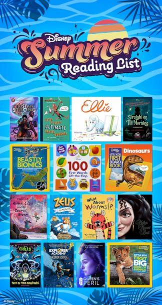 PHOTO: Disney's summer reading list is here for newborns to age 12. (Disney)