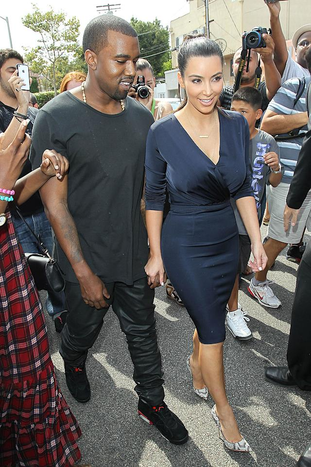 "Kim Kardashian and Kanye West are working on ""a reality show based on their life together,"" reveals <em>HollywoodLife,</em> which notes, ""cameras will follow the couple as they travel around the world, primarily in London, Paris, Italy and New York."" For more scoop on their new series, and how it's already causing tension between them, see what a Kardashian insider tells <a target=""_blank"" href=""http://www.gossipcop.com/kim-kardashian-kanye-west-reality-show-together-traveling-kris-jenner/"">Gossip Cop.</a>"