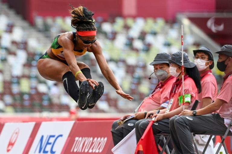 Athletics got under way at the Tokyo Paralympics with Brazil snagging the first track gold (AFP/Kazuhiro NOGI)