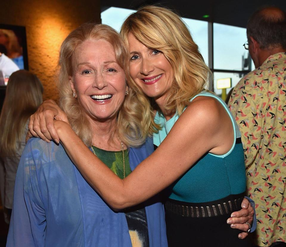 <p>We all know Laura Dern from her role in HBO's <em>Big Little Lies</em> and the science fiction classic <em>Jurassic Park</em>, but many don't realize she's also the daughter of three-time Oscar nominee Diane Ladd. Ladd has appeared in over 100 roles in film and television, most notably <em>Alice Doesn't Live Here Anymore</em> and 1991's <em>Rambling Rose</em>, both of which scored her Oscar nominations in their respective years. </p>