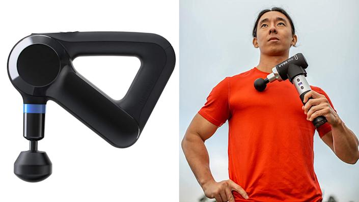 Best health and fitness gifts 2021: Theragun Elite massage gun and Vybe Pro Percussion