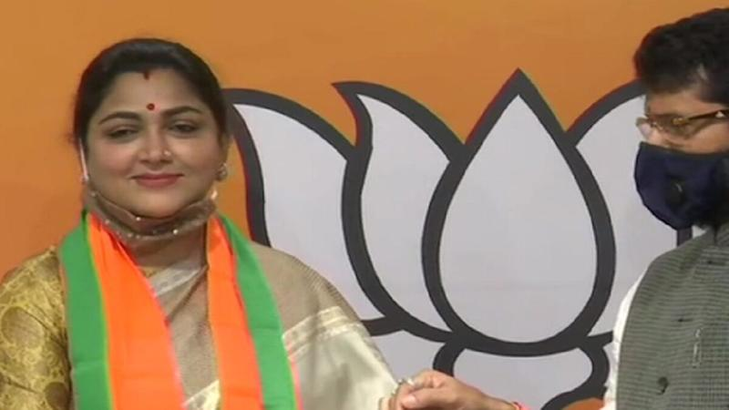 Khushbu Sundar Joins BJP After Resigning From Congress