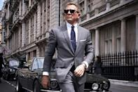<p>Bond is back! And this is reportedly the last time that Daniel Craig will fill the suave spy's shoes. After having been retired for a few years, James Bond receives word of a dangerous threat that brings him out of the shadows. <em>Knives Out's</em> breakout star, Ana de Armas also stars in the action film set for release November 20, 2020.</p>