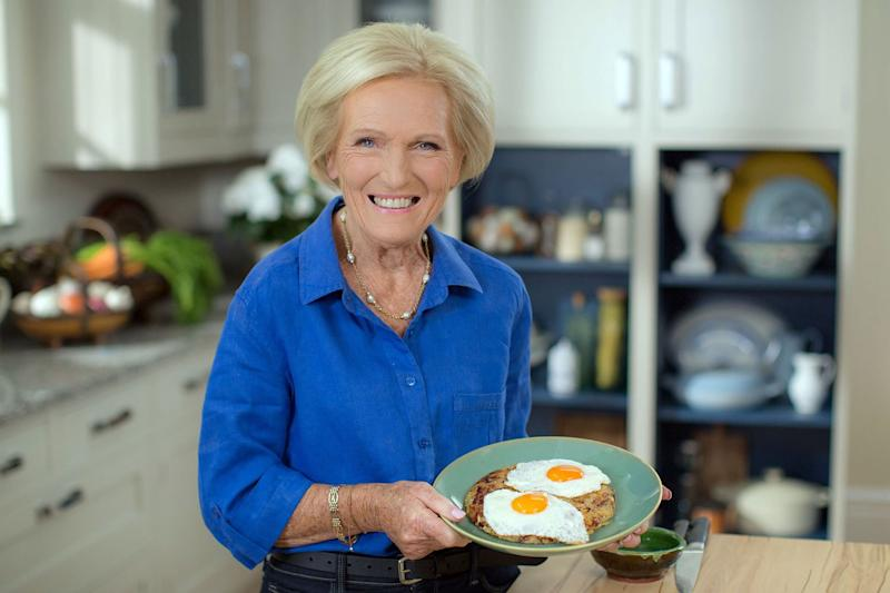 Mary Berry on her new BBC cooking show Mary Berry Everyday: BBC/Sidney Street