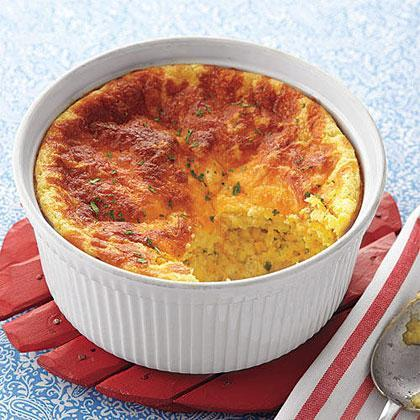 """<p>While a close cousin to cornbread, Southern spoon bread is a moister, denser dish that's closer to a <a href=""""https://www.myrecipes.com/t/vegetables/corn"""" rel=""""nofollow noopener"""" target=""""_blank"""" data-ylk=""""slk:corn"""" class=""""link rapid-noclick-resp"""">corn</a> souffle or corn pudding. </p>"""