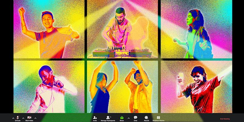 How to Throw an Online Dance Party, According to Pro DJs
