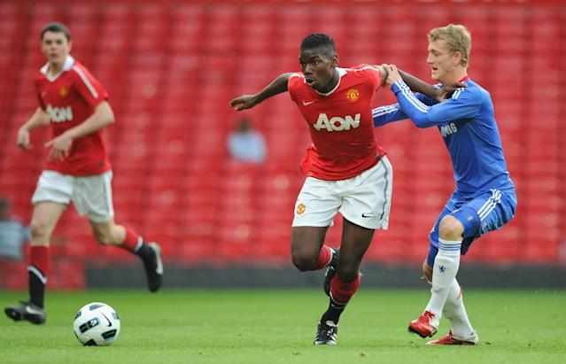 Pogba initially joined United as a teenager before moving to Juventus. (Credit: Getty Images)