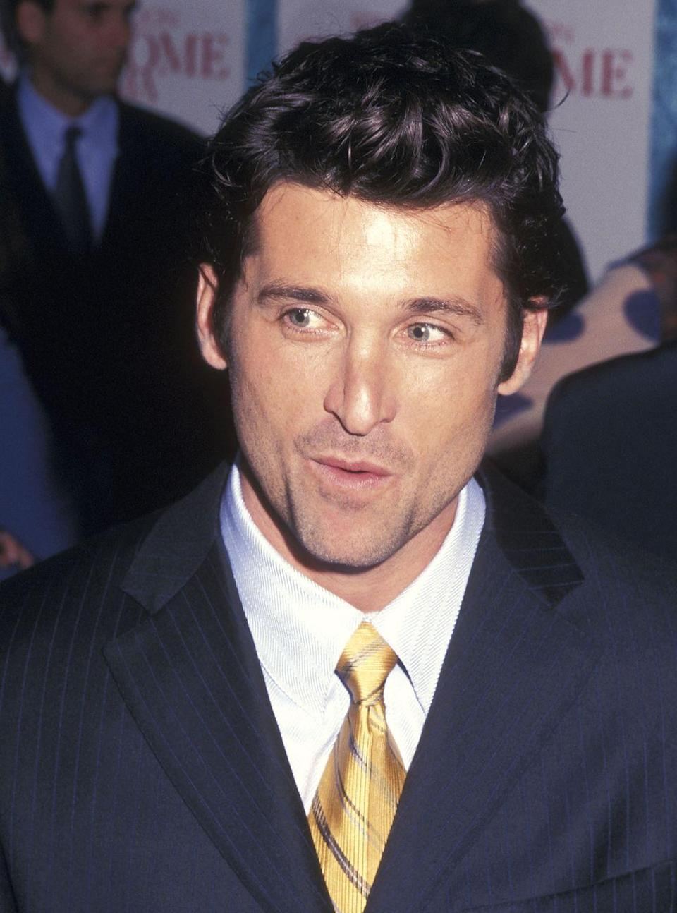 <p>For the Sweet Home Alabama premiere back in the day, Dempsey went full NYC bachelor on the red carpet, as well as in the film. He does it well.</p>