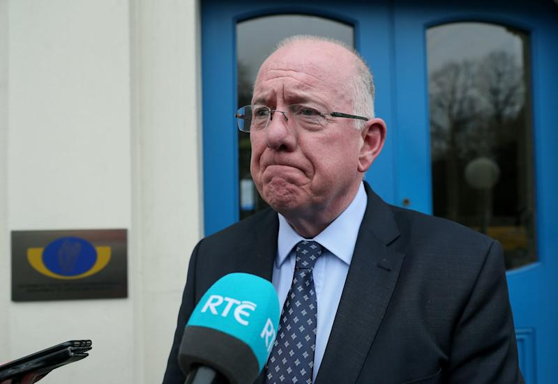 Justice minister Charlie Flanagan told RTE that a potential link is being investigated. (PA)