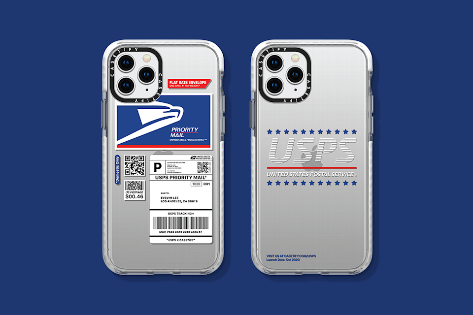 CASETiFY is the latest brand to team up with USPS on merchandise. (Photo: CASETiFY)