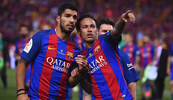 "International: Luis Suarez: Neymar zu Real Madrid? ""Niemals!"""