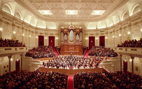The Concertgebouw, built in 1888, is famed for its near-perfect acoustics and its resident Royal Concertgebouw Orchestra