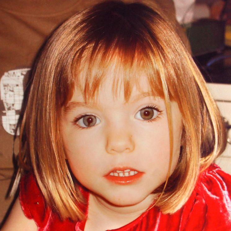 Madeleine McCann has been missing since 2007 (Rex)