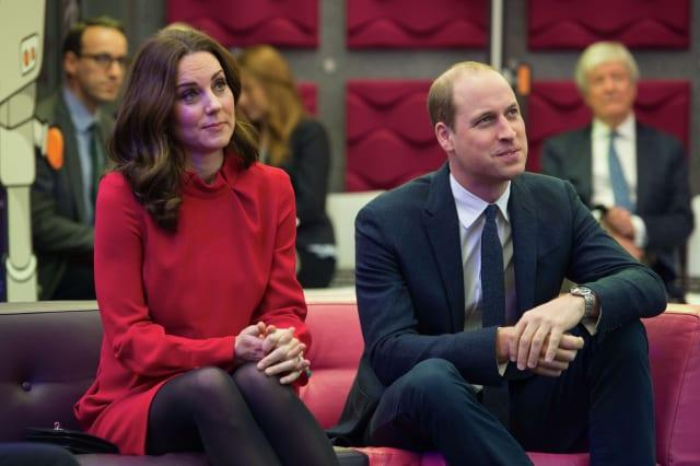 Duke and Duchess of Cambridge visit to Manchester