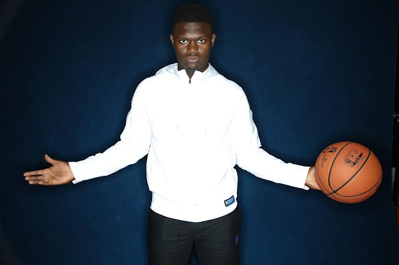 Zion Williamson could be something very special for New Orleans. (Getty Images)