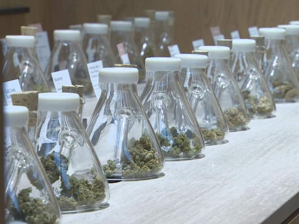 Cannabis industry insiders say a lack of access to banking and financial services is limiting the sector's growth in Canada, where it has been legal for nearly three years. (CBC/Shawn Foss - image credit)