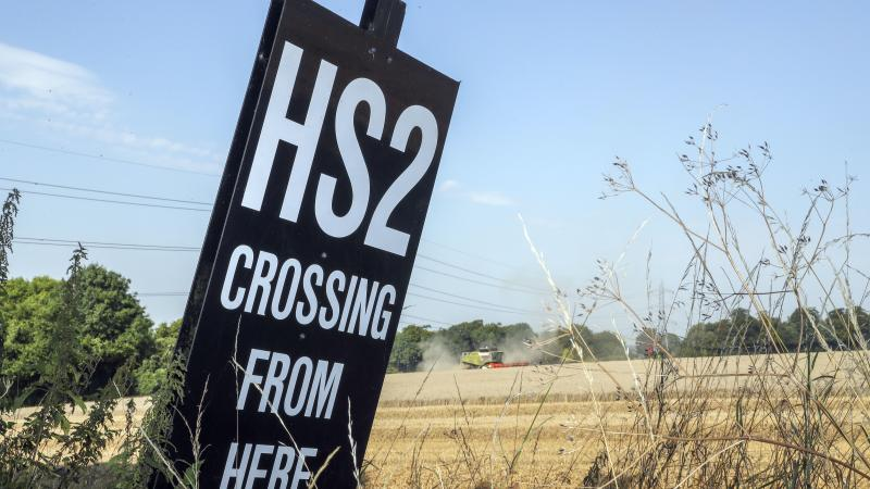 Delivery of HS2 given red warning rating by Government experts