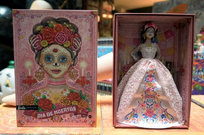 """Toymaker Mattel has launched the second Barbie based on """"Catrina,"""" a skeletal representation of death that is a symbol of one of Mexico's most important festivals"""