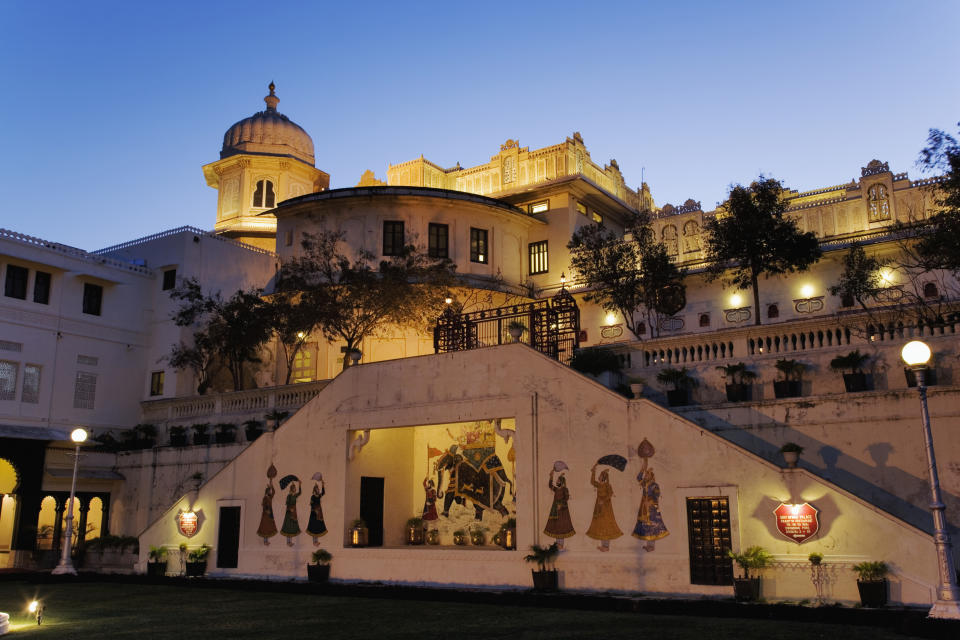 The palace was used for filming part of the film 'Goliyon Ki Raasleela Ram-Leela' 2013 directed by Sanjay Leela Bhansali. On 15 August 2018, India Post issued a commemorative stamp depicting the Palace.