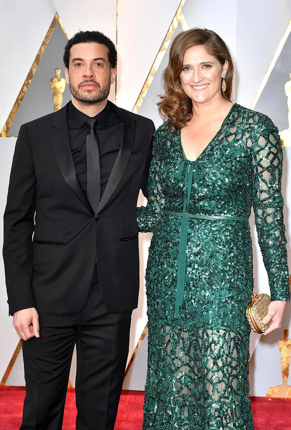 <p>Director Ezra Edelman and producer Caroline Waterlow attend the 89th Annual Academy Awards at Hollywood & Highland Center on February 26, 2017 in Hollywood, California. (Photo by Jeff Kravitz/FilmMagic) </p>