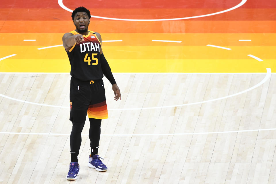 Donovan Mitchell。(Photo by Alex Goodlett/Getty Images)