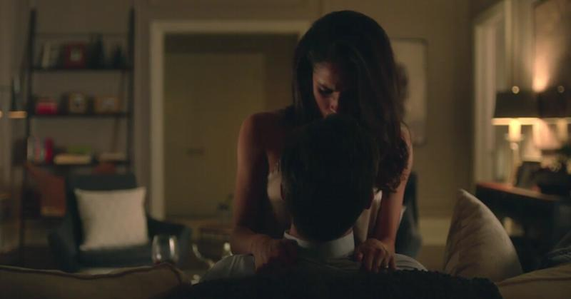 Suits mike and rachel sex scene