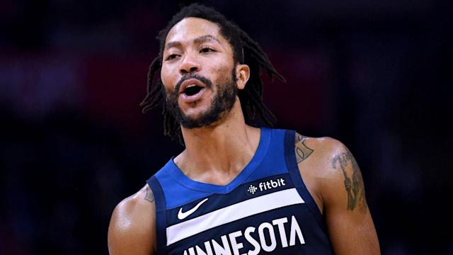 Former NBA MVP Derrick Rose scored a game-high 31 points and sunk the winning shot to secure victory on Sunday.